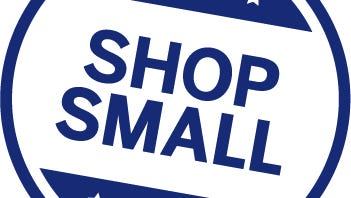"""The official """"Small Business Saturday"""" logo."""