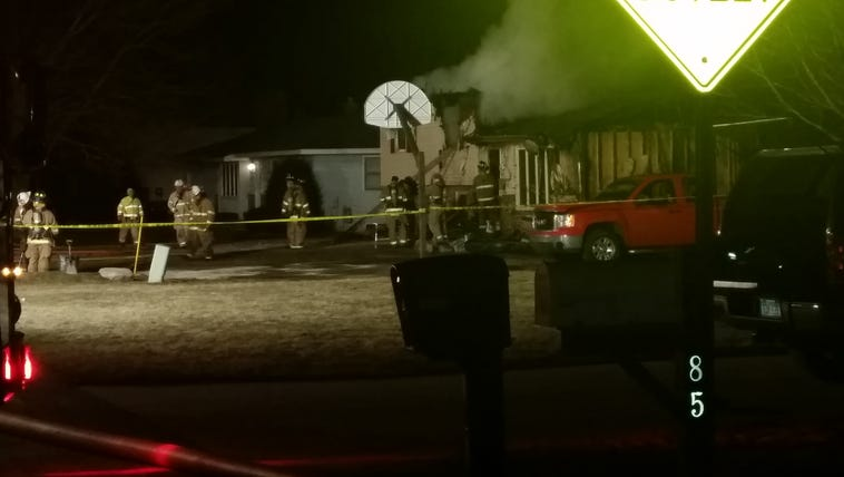 House a total loss after fire rekindles overnight in