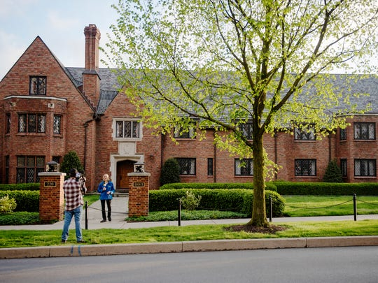 The Beta Theta Pi fraternity house on Penn State University