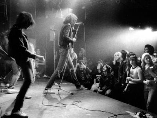 Punk rock innovators The Ramones were inducted into