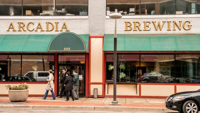 Arcadia Brewing Co. at 103 W. Michigan Ave. in Battle Creek.