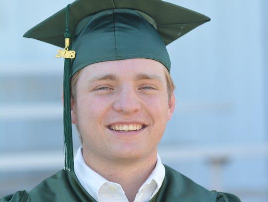 Valedictorian Jackson Wade McQueen
