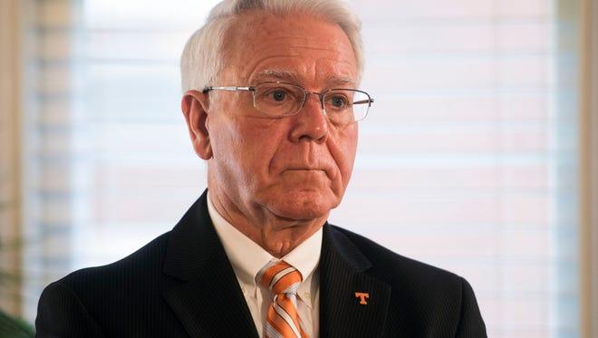 Wayne Davis is interim chancellor at the University of Tennessee.