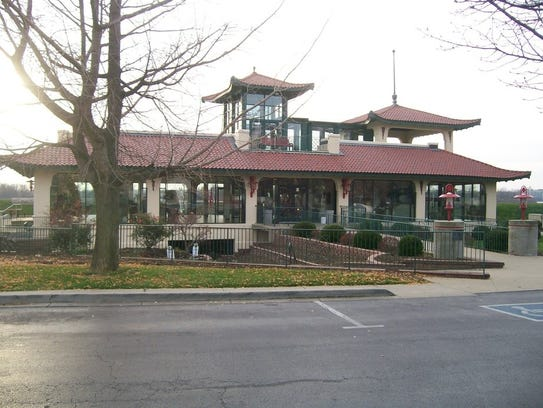 The Pagoda as it can be seen today. Sunset Park Pavilion