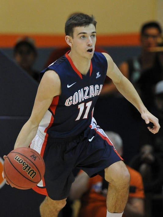 USP NCAA BASKETBALL: GONZAGA AT PEPPERDINE S BKC USA CA