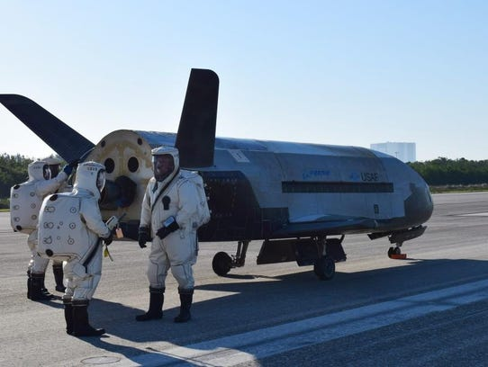 The Air Force's X-37B Orbital Test Vehicle mission