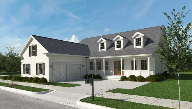 Florida Lifestyle Homes' furnished Lauren model is open for viewing in the Lake Timber neighborhood at Babcock Ranch.