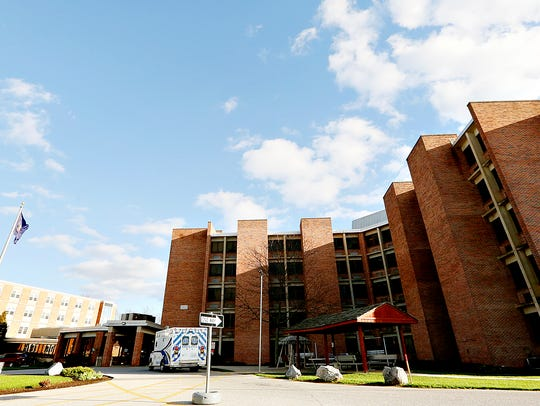 Pleasant Acres Nursing Home is shown in York, Pa. on