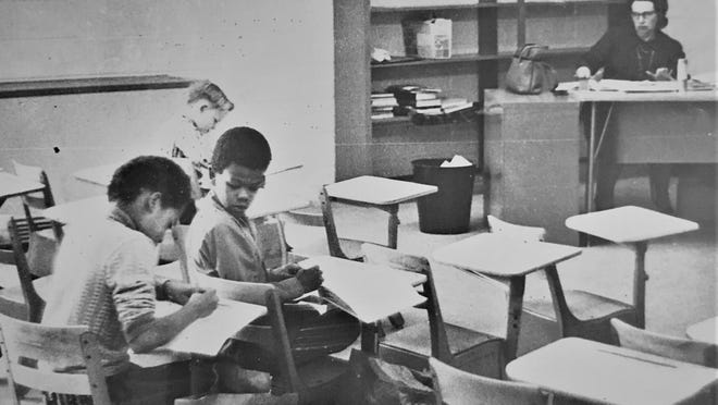 The Richmond County school system was sued for blatantly ignoring the landmark 1954 Brown v. Board of Education case.