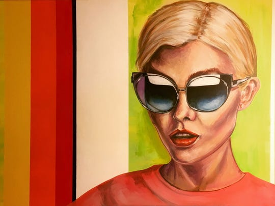 """Taylor Stanislawski says her work """"reflects a pop-art sort of fashion leaning to the female figure."""""""