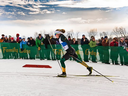 Mary Kate Cirelli enters her second NCAA skiing championships as a UVM Catamount.