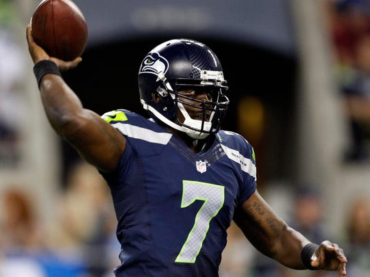 Tarvaris Jackson was the Seahawks' starting quarterback