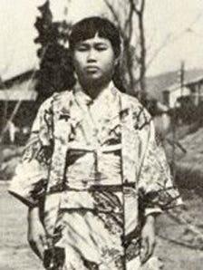 Sadako Sasaki, pictured at age 12, survived the Hiroshima bombing but later developed leukemia.