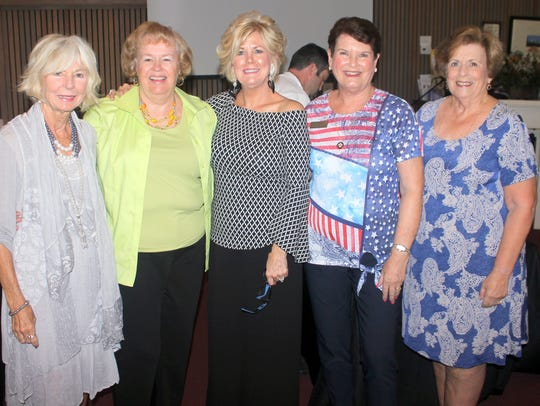 Susanne Grossman, Polly Lally, Sharon Cook, Pam Molander