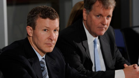 Scott Kirby, then president of US Airways, is pictured