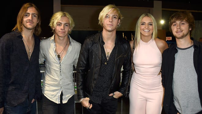 R5 attend the 2015 iHeartRadio Music Awards which broadcasted live on NBC from The Shrine Auditorium on March 29, 2015 in Los Angeles, California.