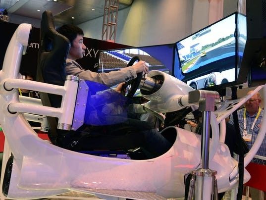 2015 Consumer Electronics Show (CES) in Las Vegas