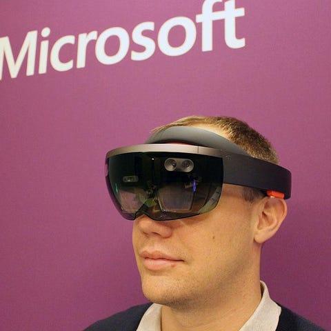 HoloLens director of communications Craig...