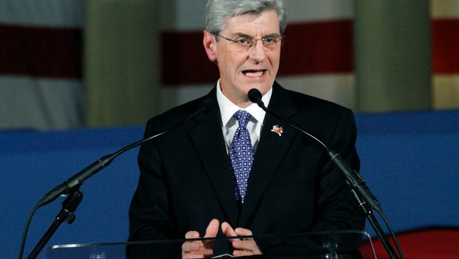 Gov. Phil Bryant, running for re-election, faces Robert Gray, a truck driver who won the Democratic primiary.