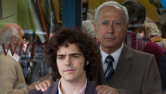 "Father (Guillermo Francella) and son (Peter Lanzani) in ""The Clan."""