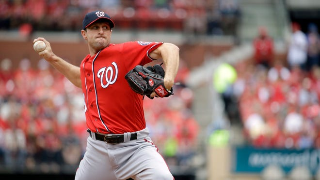 Nationals pitcher Max Scherzer said it'll be fun and exciting to pitch against several of his former Tiger teammates on Wednesday.