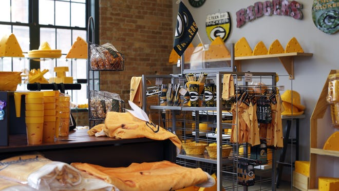 The Cheesehead Factory and Retail Outlet of Foamation Inc. is located at 1120 S Barclay St., Milwaukee, Wisconsin. The new location will eventually have a museum and interactive activities for guests. Sarah Kloepping/USA TODAY NETWORK-Wisconsin