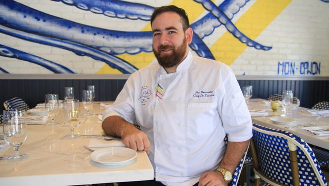 Joe Bonavita is the chef de cuisine at Izzy's Fish & Oyster in downtown Fort Myers.