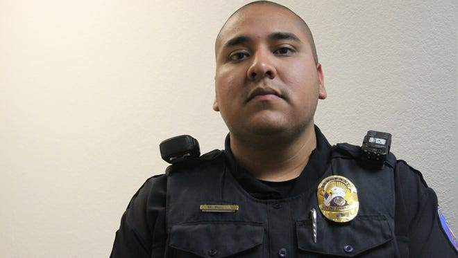 Former Sgt. Mario Rocha was fully hired as chief of police for the Loving Police Department at Monday's village council meeting.