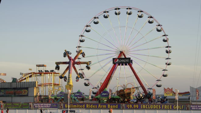 The Jolly Roger Giant Wheel is returning to the pier by April's end, according to a news release.