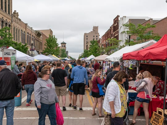 The Oshkosh Farmers Market will open June 1 or the summer on Main Street.