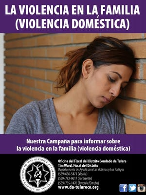 Tulare County District Attorney uses money from the Project Safe Neighborhoods to purchase and distribute fotonovelas to inform the Spanish speaking community of our victim services unit's assistance for domestic violence and sexual assault.