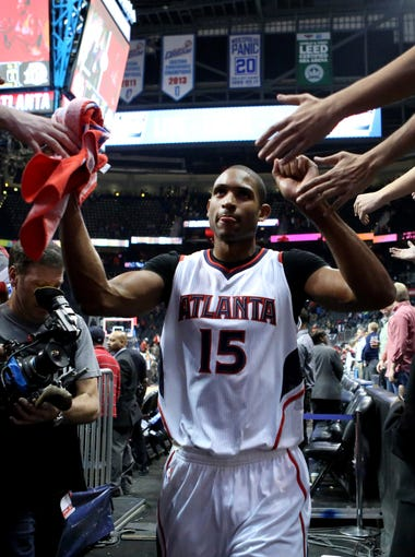 Al Horford and the Atlanta Hawks have soared to the top of the Eastern Conference with a franchise-record 18-game winning streak. Look back at the Hawks' epic run.