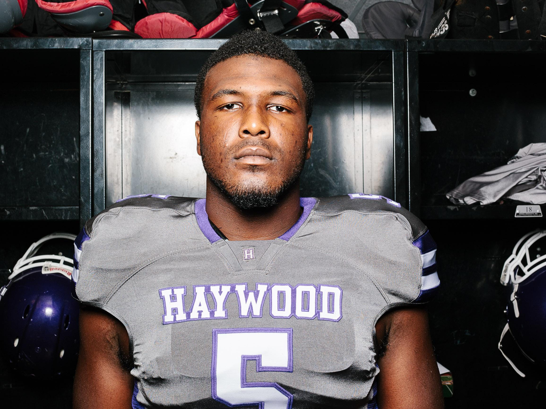Haywood senior Emmit Gooden has offers from more than 30 NCAA FBS schools.