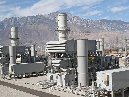 The CVP Sentinel Power Plant in Desert Hot Springs