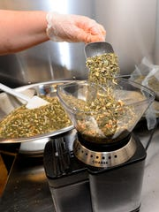 A mix of herbs and spices makes up Choteau Spice Co.'s Eureka Lavender herb seasoning.