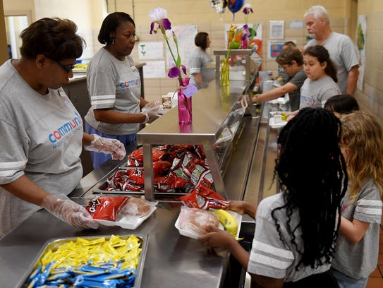 Jackson-Madison County School's recognizes School Lunch