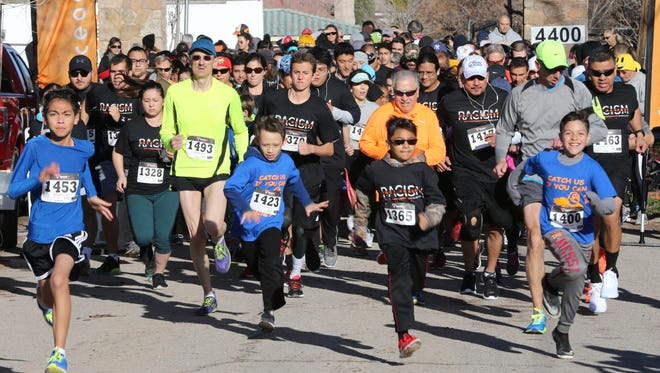 The El Paso Parks and Recreation Department is starting Tour De El Paso, a monthly family and wellness running events. These runners participated in the Race Against Racism, an event hosted by the El Paso YWCA on Martin Luther King Day.