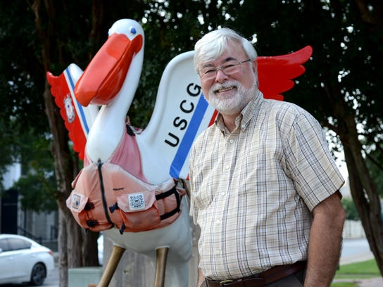 Bill Hayden is chairman of thePensacola Coast Guard Retiree Council, which raised funds to create the U.S. Coast Guard pelican nearly 16 years ago.
