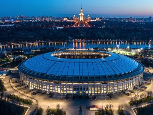 AP APTOPIX RUSSIA SOCCER WCUP MOSCOW S SOC WSOC RUS