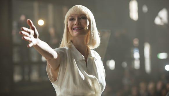 Tilda Swinton in 'Okja.'