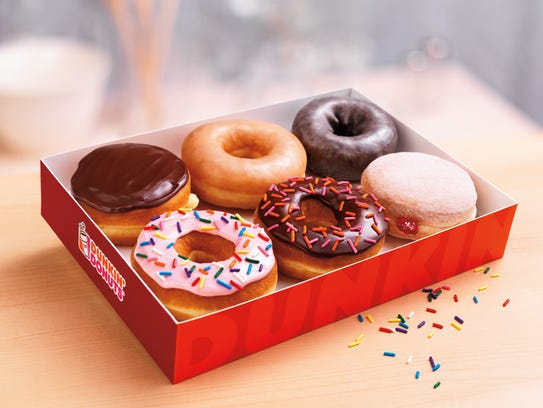 With an AARP card, you can get a free doughnut at Dunkin'