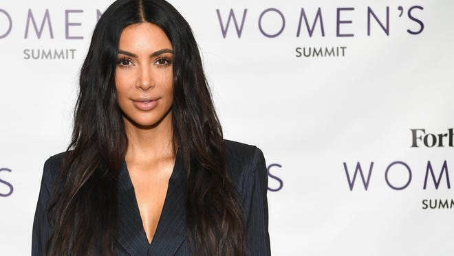 Kim Kardashian at the 2017 Forbes Women's Summit on June 13, 2017, in New York.