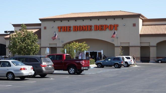 Home Depot on Ventura Boulevard in Camarillo.
