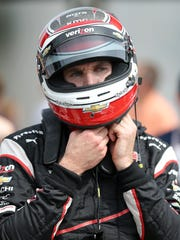 Will Power of Team Penske will start the 99th Indianapolis