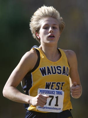 West freshman Brooke Jaworski has posted the state's fastest time's in the girls 200 and 400 meters so far this track season