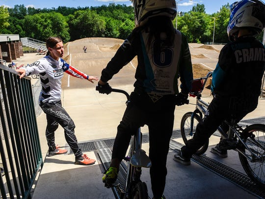 Olympic BMX medalist Alise (Post) Willoughby works
