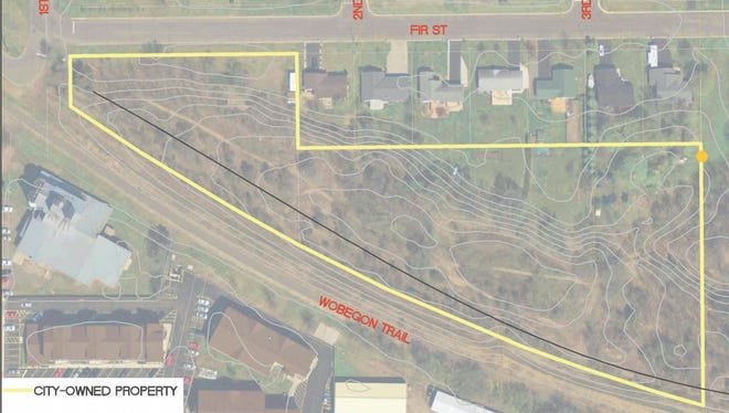 The city of St. Joseph is proposing a dog park near the Wobegon Trail, between Stearns County Road 75 and First Street East.