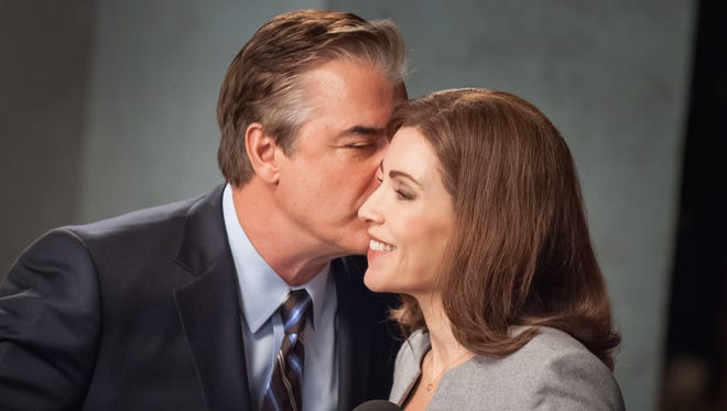 """Chris Noth and Julianna Margulies in """"The Good Wife."""""""