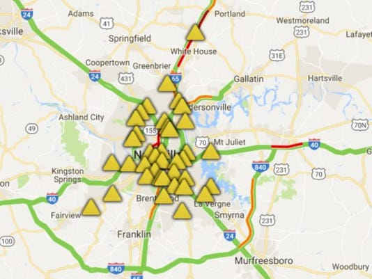 Solar Eclipse 2017 Traffic Is Heavy On Interstates Following Eclipse