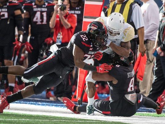 NCAA Football: Baylor vs Texas Tech